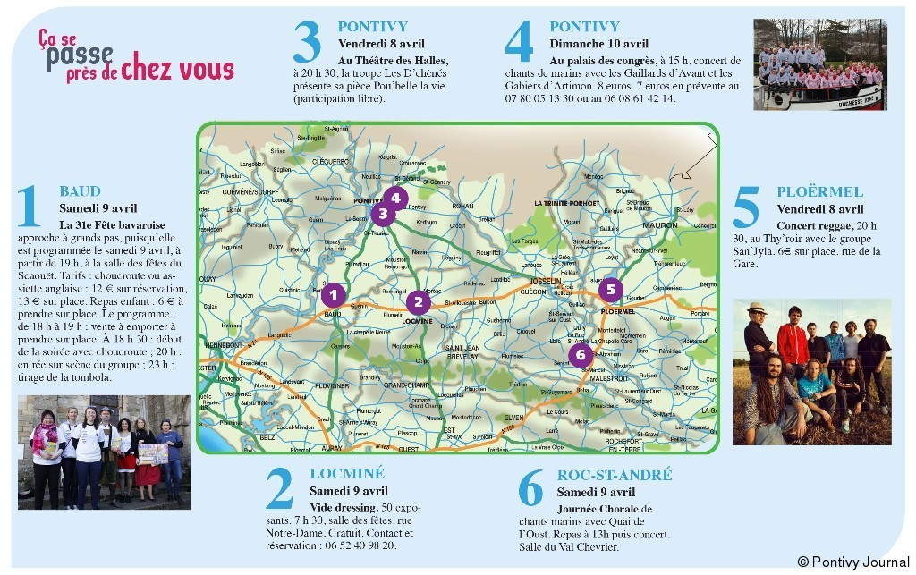 Vos sorties pour ce week end article pontivy journal for Sortie yvelines ce week end
